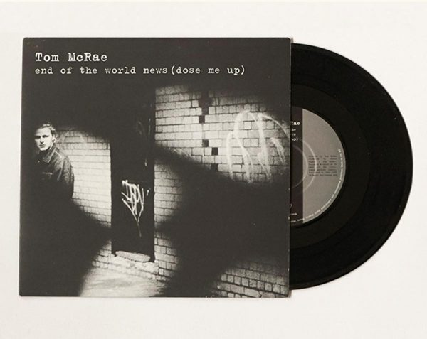 Tom McRae - End of the world news Vinyl-7inch